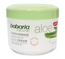 Babaria Aloe Vera Luxurious Body Cream 400ml
